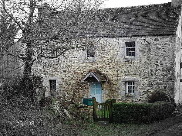 Typical Breton house