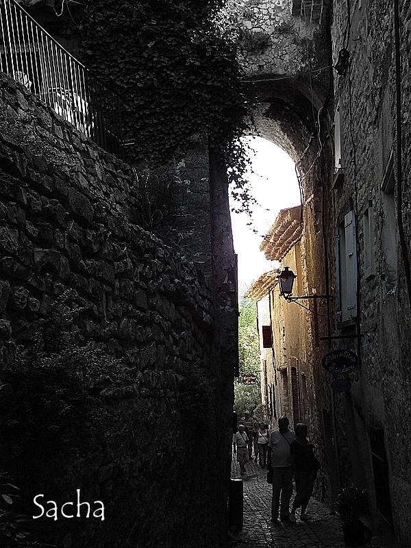 Ruelles village de Séguret Provence