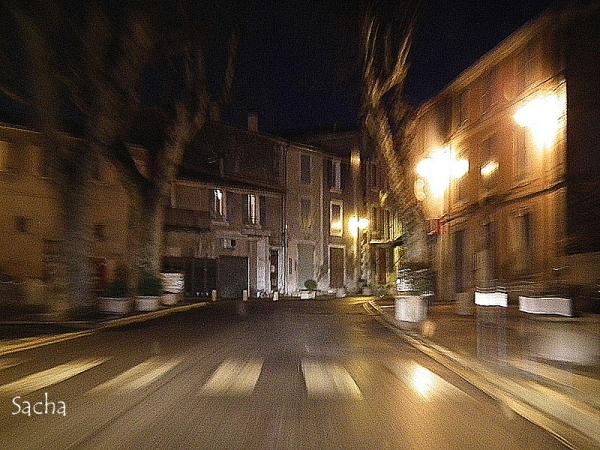 Tard dans la nuit # 2 village de Céreste