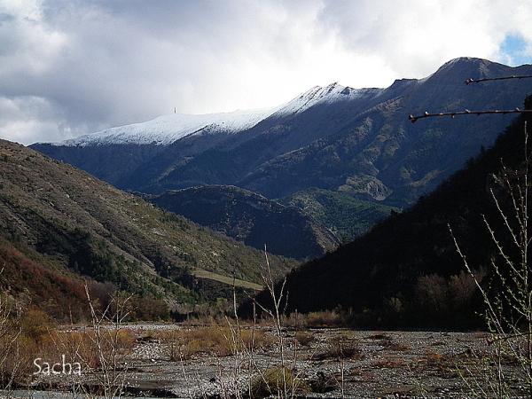 Vallée du bés Alpes de haute provence