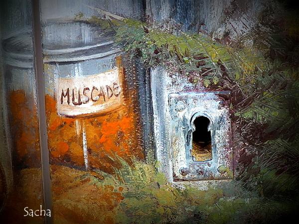 Par le trou de la serrure ,  village  Forcalquier