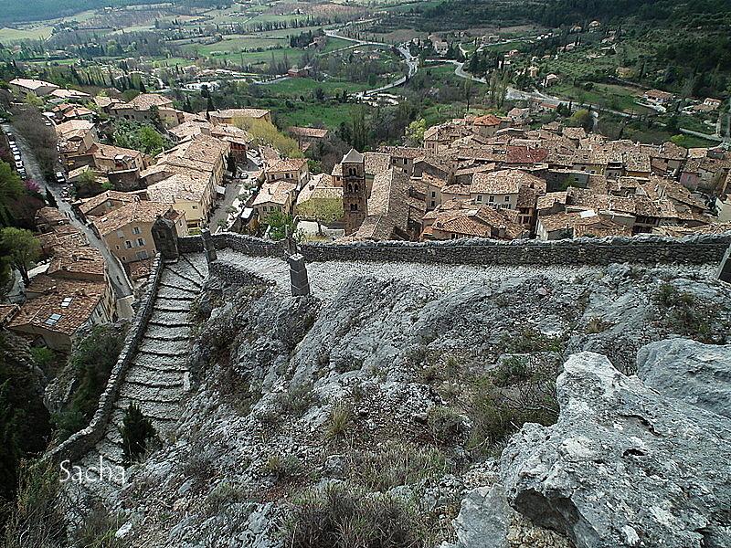 Village de Moustiers Sainte Marie