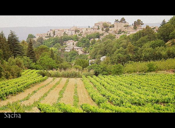 """Mon village """" Ménerbes """" Luberon"""