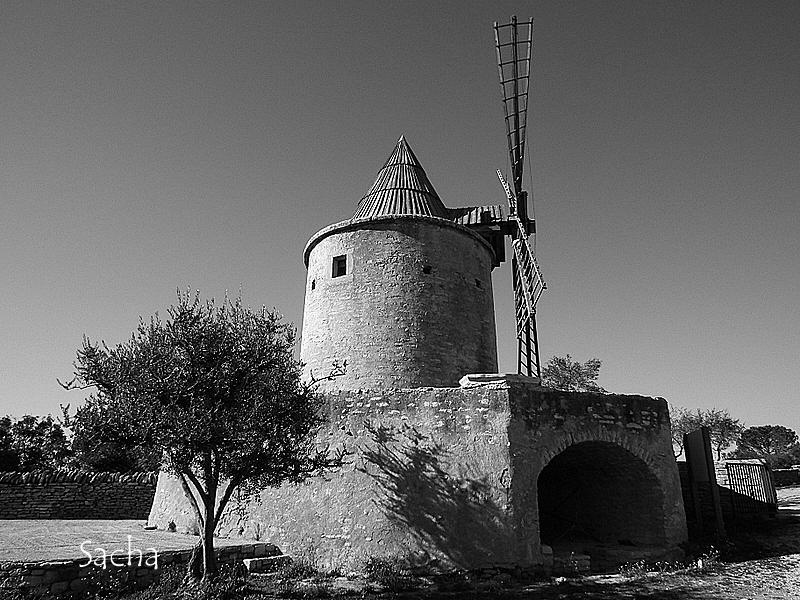 Moulin de Jérusalem village de Goult