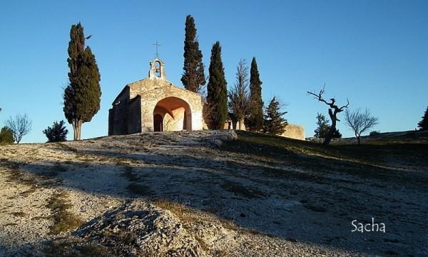 Chapelle st Sixte  à Eygalières