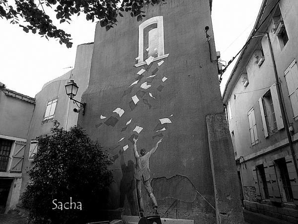 Lorsque les murs se font poésie
