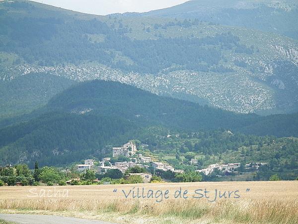 Village de St Jurs