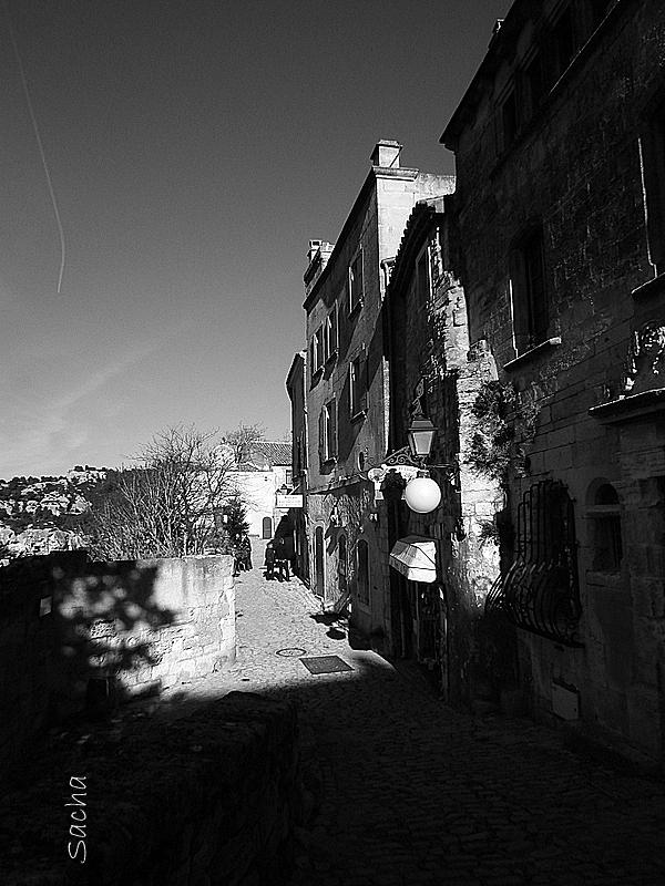 Calade du village des Baux de Provence