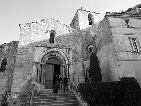 Eglise St Vincent des  Baux de Provence