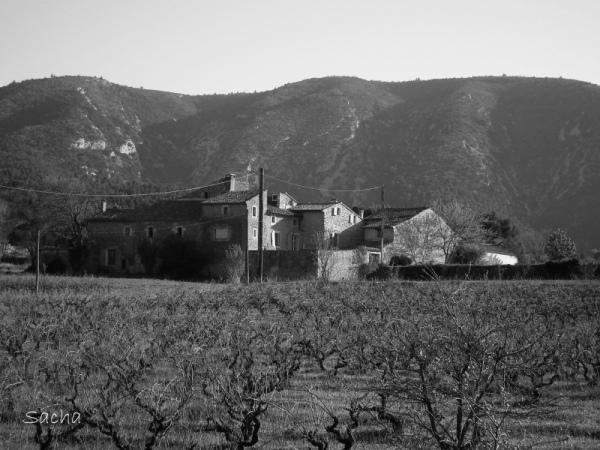 Bastide au pied du Luberon