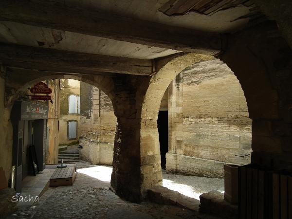 Passage sous voûte Gordes