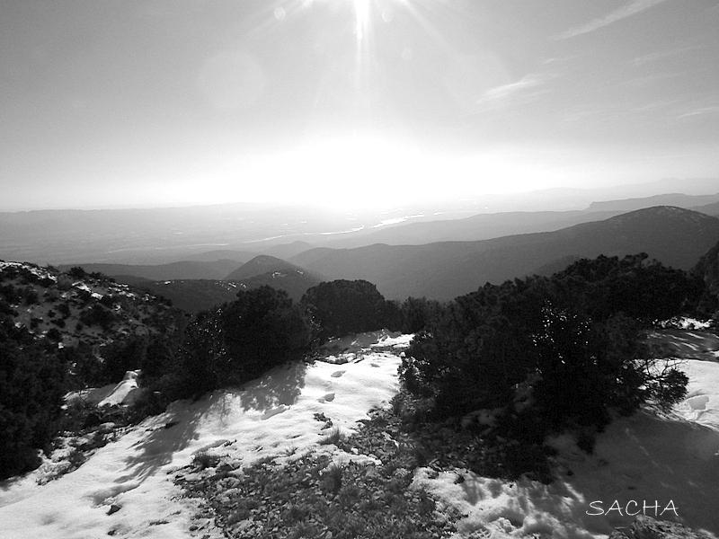 Vue sur la vallée de la Durance
