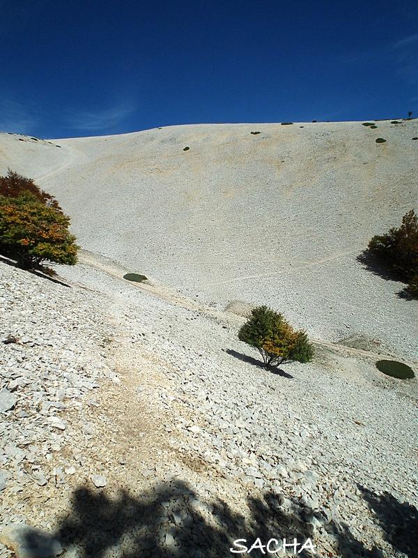 Désert de pierres  Mont Ventoux