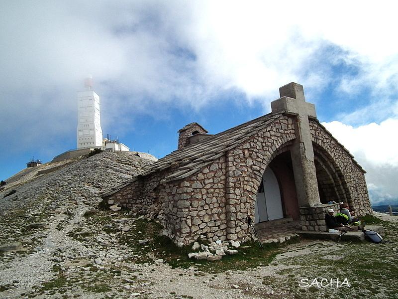 Mont Ventoux et chapelle St Croix