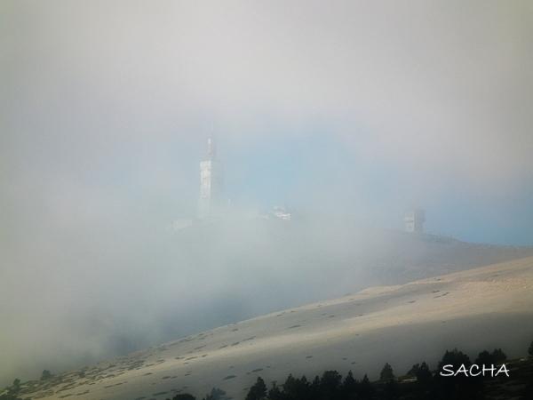 Sous la brume Mt Ventoux