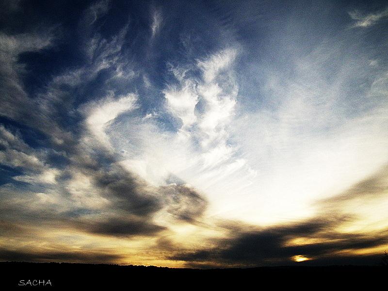 Ciel d'hiver en Luberon # 2