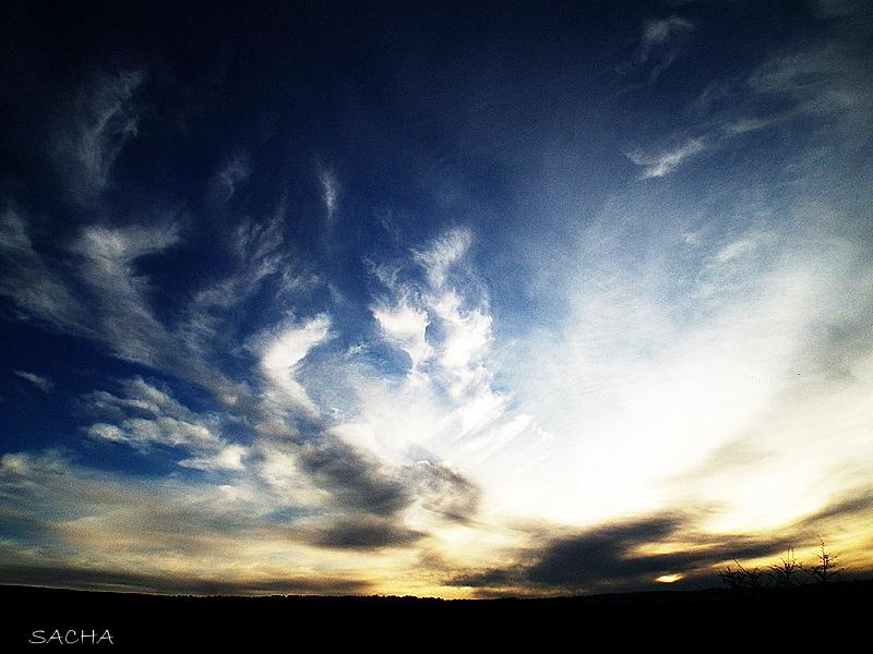 Ciel d'hiver en Luberon # 3