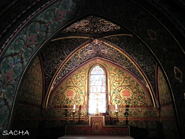 "Chapelle "" Abbaye St Michel de Frigolet """