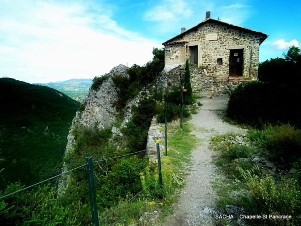"""Chapelle St Pancrace """" Alpes de H-Provence """""""
