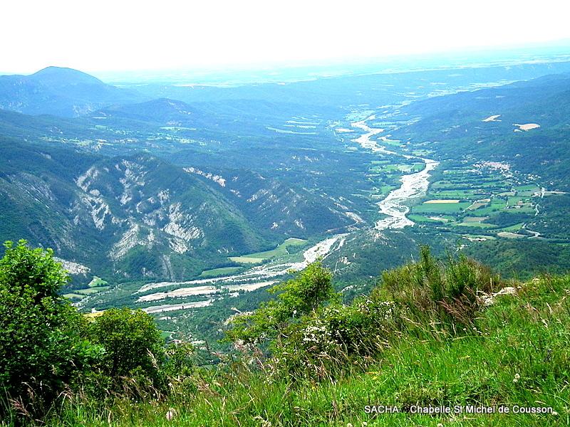 Vallée de l' Asse Mont Cousson
