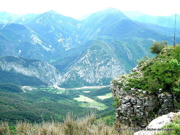 Vallée de l'Asse ,Clue  de Chabrières