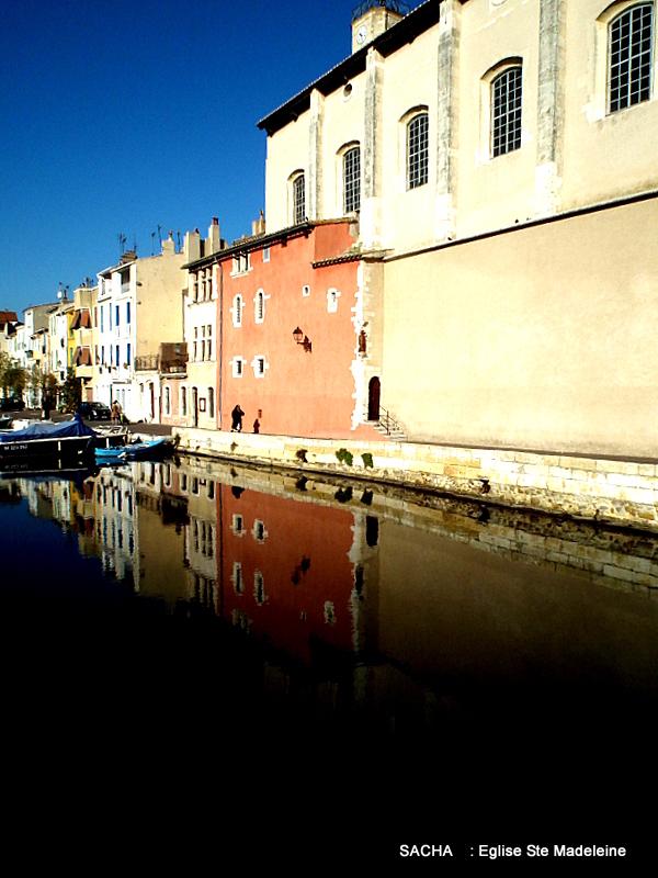 """Canal St Sébastien Venise provençale """" Martigues """""""