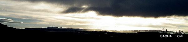Coucher de soleil sur les Alpilles