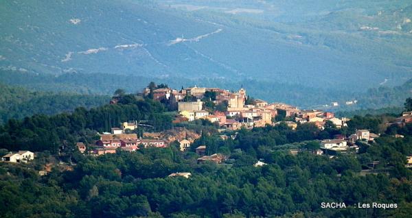 Village  de Roussillon en Provence