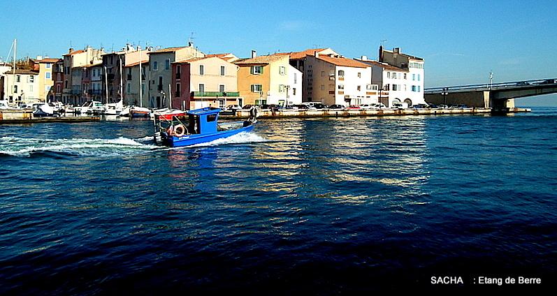 Entre canal Galliffet et étang de Berre