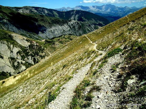 Alt  1700 m col de Clapouse les Monges