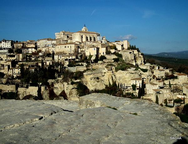 Village perché de Gordes , Luberon Provence