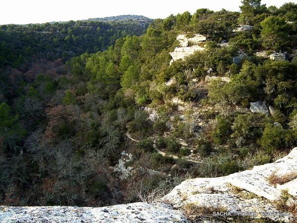 Se percher Vallon de la Sénancole Luberon