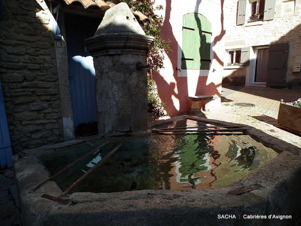 """Fontaine Haute """" Cabrières d'Avignon """""""