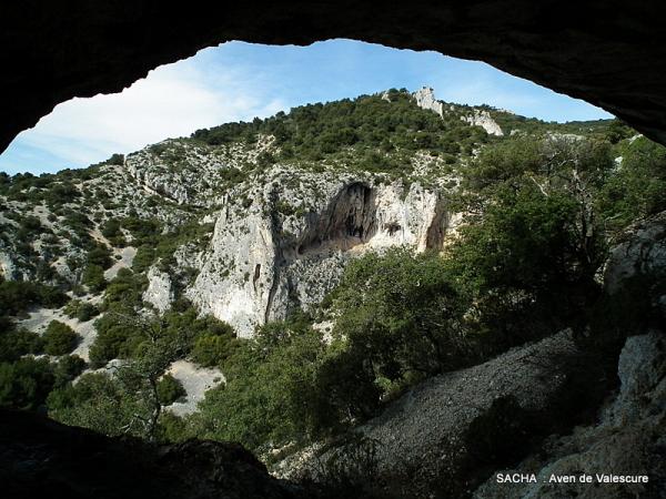 """Aven gouffre  de Valescure """" Mts de Vaucluse """""""