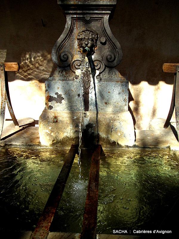 Lavoir et fontaine