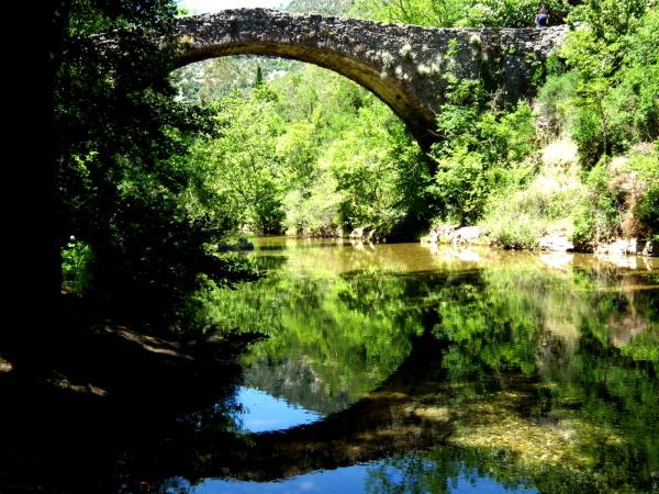 """Pont romain sur  la Vis """" Navacelles"""""""