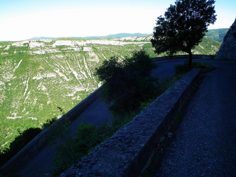 Route du cirque de Navacelle