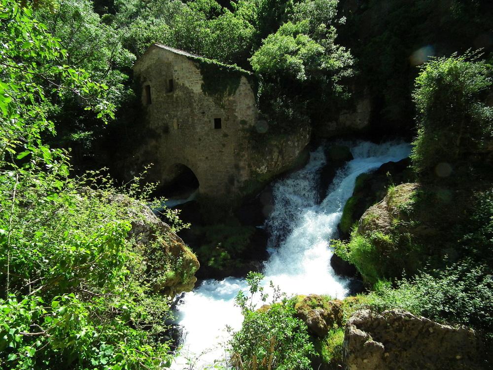 """Moulin de la Foux gorges de la Vis  """" Navacelles"""""""