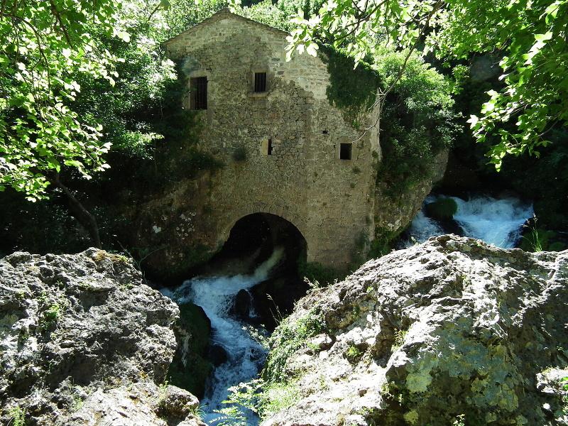 """Moulins de la Foux """" Gorges de la Vis Navacelles"""""""