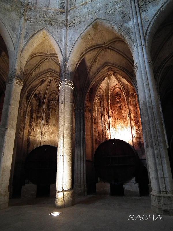 Nef abbaye de Valmagne ( foudres )