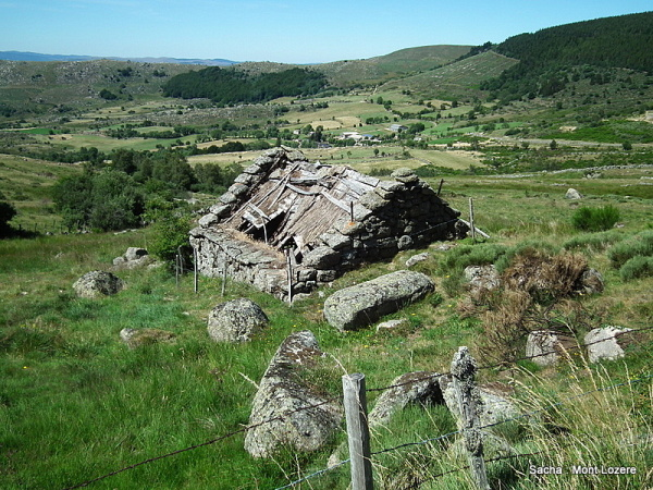 "Petite ruine #2 ""Mt Lozere"""