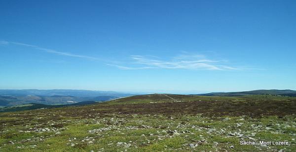 Pic de Finiels traversée du Mt Lozere GR70