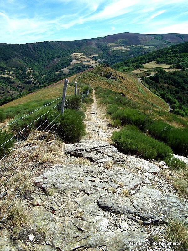 Du Serre de Rébiouse au Col de l'Agulharon