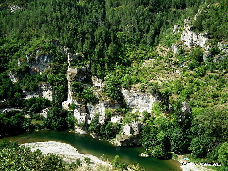 Village troglodytique de Castelbouc