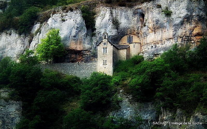 Ermitage de Sainte Enimie Gorges du Tarn
