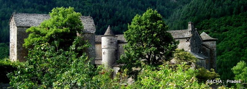Château de Prades Gorges du Tarn