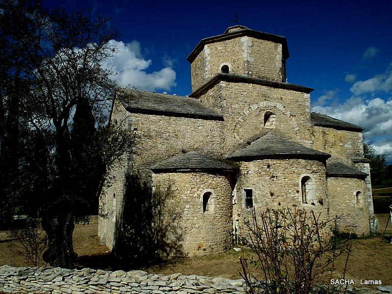 "Eglise St Pierre de Larnas XIIeme "" Ardèche """