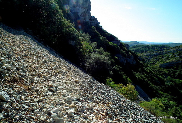 Sentier de rando  Gorges de la  Ste Baume