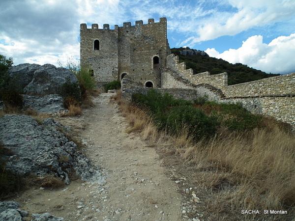 Château village médiéval de St Montan