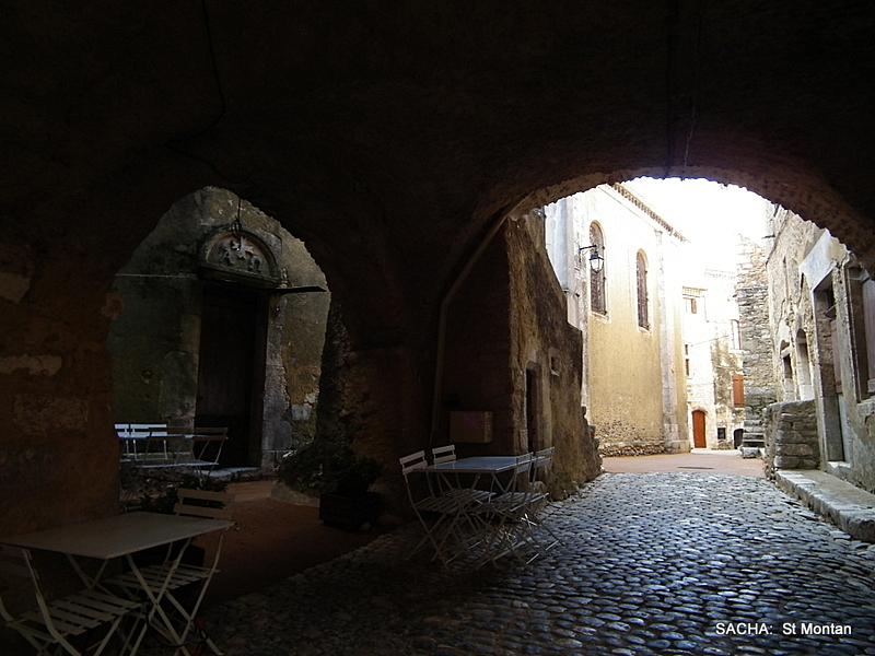 Village médiéval de Saint Montan Ardèche